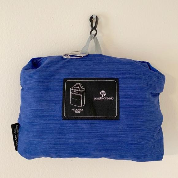 9bab5f10188f43 Eagle Creek Handbags - Blue Sea, Eagle Creek Packable Tote/Backpack